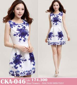 Jual Dress Pesta Mini Dress Cka 046 Blinkblinklover