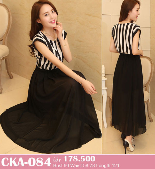 Jual Dress Pesta Long Dress Cka 084 Blinkblinklover