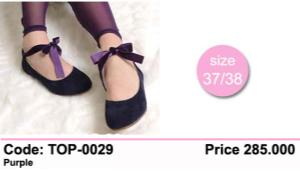Flat Shoes TOP 0029