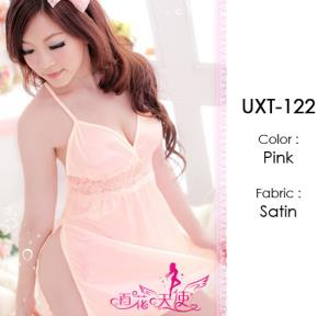 Pink Lace Cute Baby Doll Lingerie UXT-122