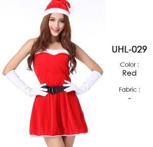 Red Santa Lingerie Costumes Sets UHL-029