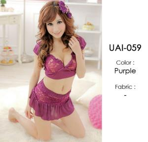 Two Pieces Micro Sexy Cute Lingerie UAI-059