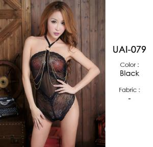 Black Baby Doll Cute LingerieUAI-079