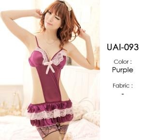 Purple Baby Doll Cute Lingerie UAI-093