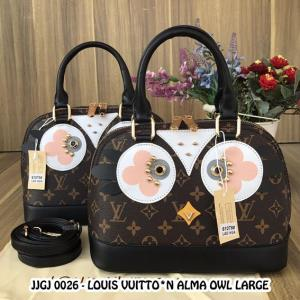 JJGJ 0026 LOxxS VUITTON ALMA OWL LARGE
